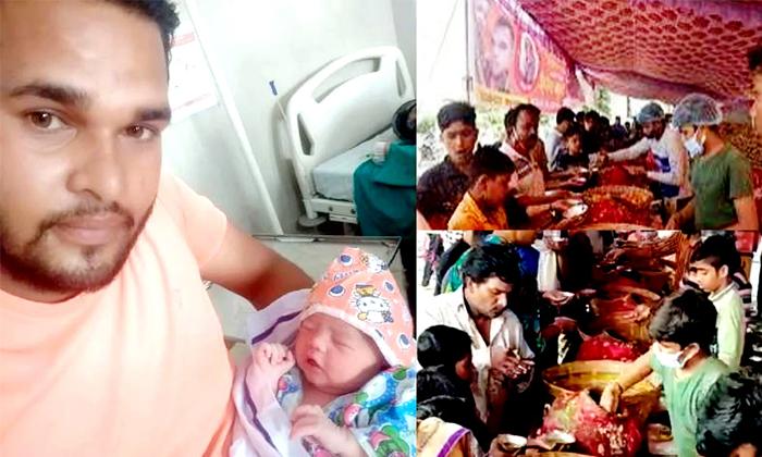 Bhopal Street Vendor Offers Free Pani Puri To Celebrates Daughters Birth-TeluguStop.com