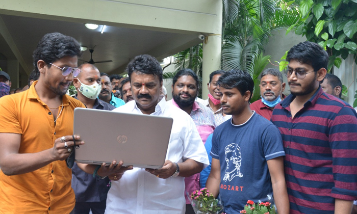 The Song Youth Abba Memu From The Movie Love You Ra Was Released By Minister Shri Talsani Srinivas Yadav-TeluguStop.com