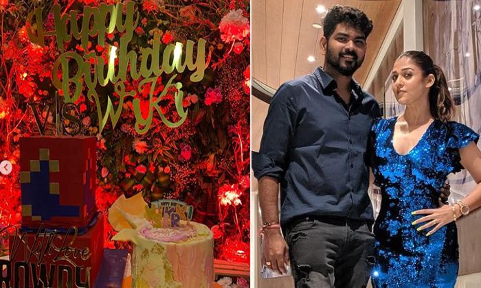 Actress Nayanthara Birthday Surprise To Vignesh Shivan-TeluguStop.com