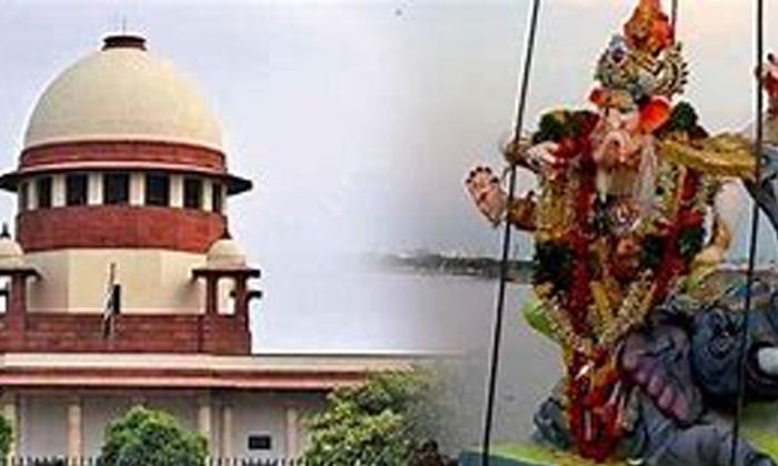 Telugu Ganesh Immersions, Hussain Sagar, Supreme Court, Telongana High Court, Tg News, Trs-Telugu Political News