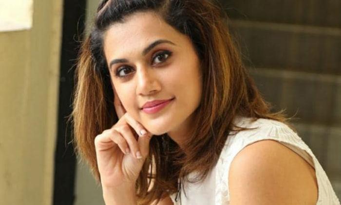 Taapsee Annabelle Sethupathi Movie Promotions-TeluguStop.com