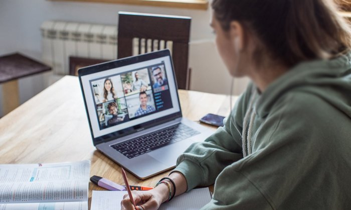 Work From Home Women Facing Harassment In Video Call-TeluguStop.com