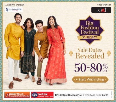Biggest Edition Of Myntra's Big Fashion Festival From October 3-10-TeluguStop.com