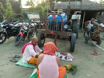 Bihar Man Arrested For 'worshipping' Weapons On Vishwakarma Puja-TeluguStop.com