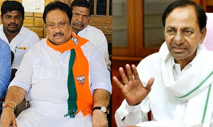 Bjp Leader Jithendar Reddy Sensational Comments On Kcr-TeluguStop.com