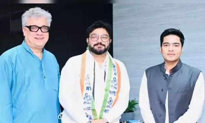 Babul Supriyo Joins In Tmc-TeluguStop.com