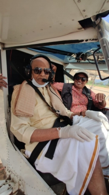 Centenarian Who 'flew' Aircraft Says 'calmness' Is Key To Staying Energetic-TeluguStop.com