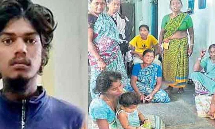 Saidabad Incident Suspect Raju Wife Mounika Comments Viral-TeluguStop.com