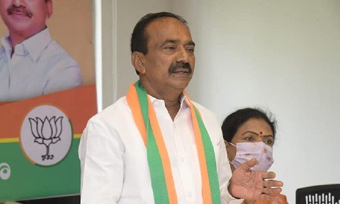 Etela Rajender Reduced The Campaign In Huzurabad Is The Real Reason-TeluguStop.com