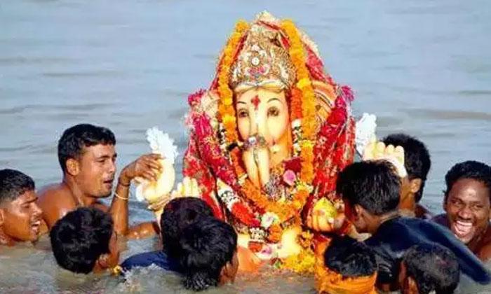 Ganesh Visarjan 2021 Date Shubh Muhurat And Know The Time For Ganpati Visarjan-TeluguStop.com