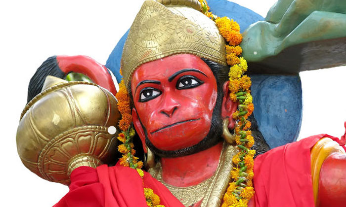 Precautions Taken While Circling Around Hanuman-TeluguStop.com