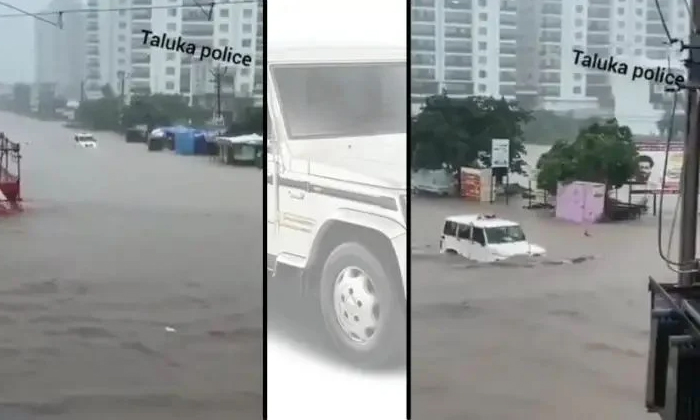 Industrialist Anand Mahindra Tweets About The Constable Who Drove Bolero In Gujarat Floods-TeluguStop.com