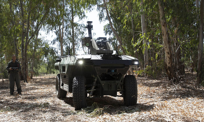 Israels New Technology Without The Need For Soldiers On The Countrys Borders-TeluguStop.com
