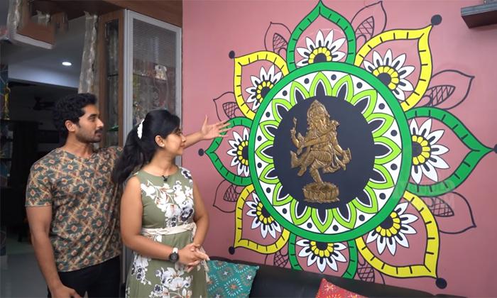 Karthika Deepam Fame Nirupam Paritala Wife Manjula Nirupam Home Tour-TeluguStop.com