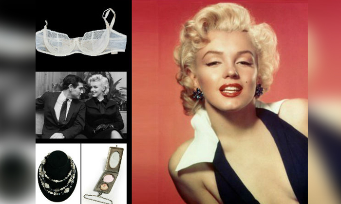 Marilyn Monroes Love Letters Brassiere Coat Other Belongings Auctioned-TeluguStop.com