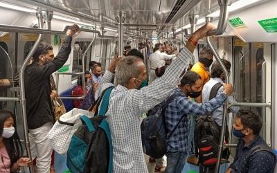 Najafgarh-dhansa Metro Line Opens For Public-TeluguStop.com