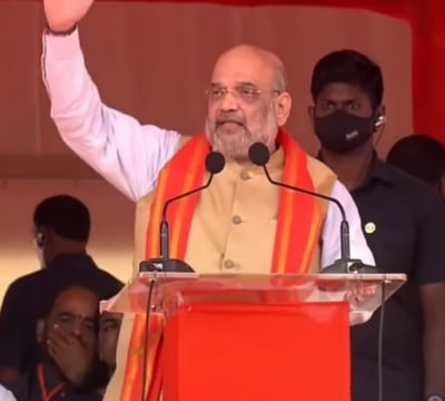 Only Bjp Can Give Real Freedom To Telangana: Amit Shah-TeluguStop.com