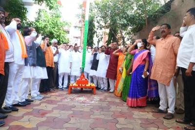 Political Parties Celebrate Telangana Merger Day-TeluguStop.com