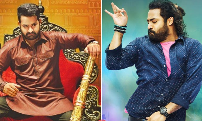 Young Tiger Junior Ntr Ponytail Hairstyles-TeluguStop.com