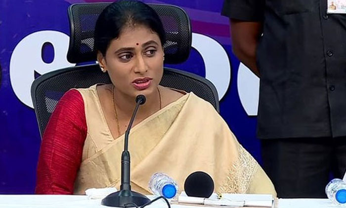Sharmila Focused On The Party Cadre This Is The Real Strategy-TeluguStop.com