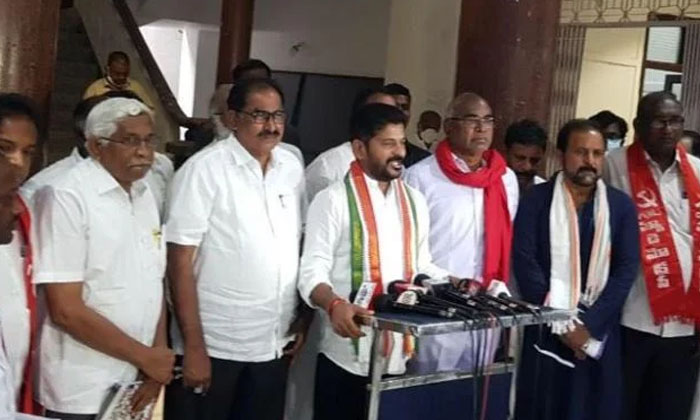 This Is The Real Strategy Behind The Rewanth Opposition Protest-TeluguStop.com