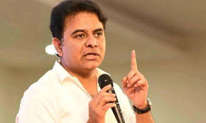 Ktr Throws Challenge To Rahul Gandhi-TeluguStop.com