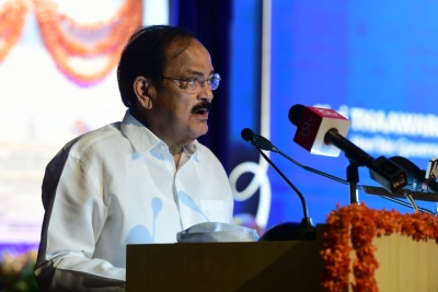 V-p Naidu Calls For More Academia-industry Interface To Address Challenges-TeluguStop.com