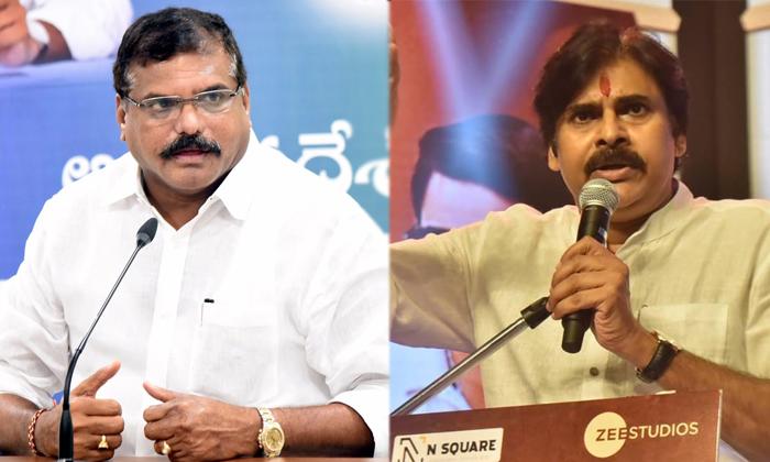 Ycp Ministers Sensational Comments Actor Pawan Kalyan-TeluguStop.com
