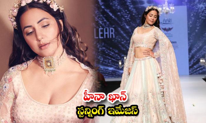 Actress Hina Khan looks graceful and elegant in t his pictures-హీనా ఖాన్ స్టన్నింగ్ ఇమేజస్