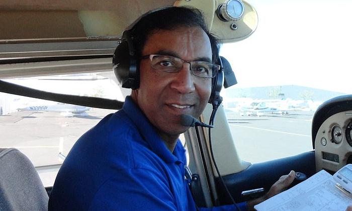Indian Origin Cardiologist Among Two Killed In California Plane Crash-TeluguStop.com
