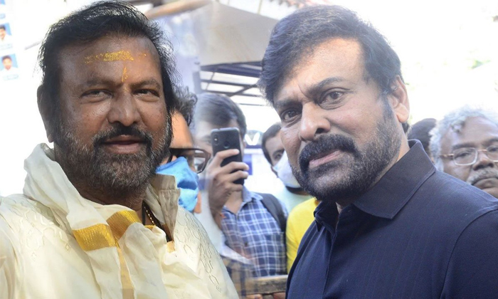 Chiranjeevi Open Offer On Maa President Post But Mohan Baabu Rejected-TeluguStop.com