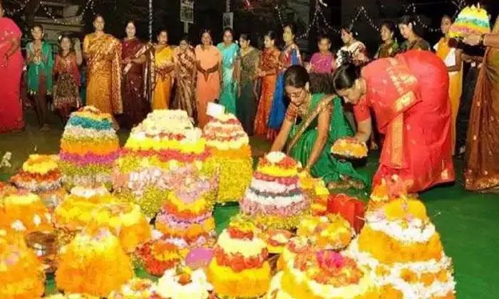 Know The Saththu Mudda On Last Day Of Saddula Bathukamma Here Special Story-TeluguStop.com