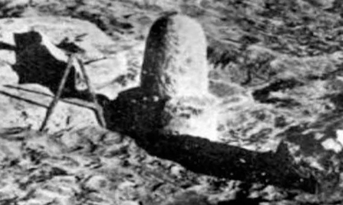 5 Thousand Years Ago Sivalingam Photo Goes Viral In Internet-TeluguStop.com